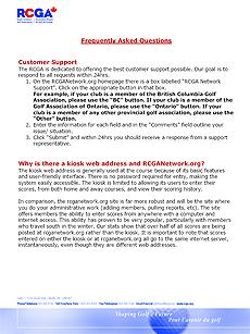 Club Admin FAQ's